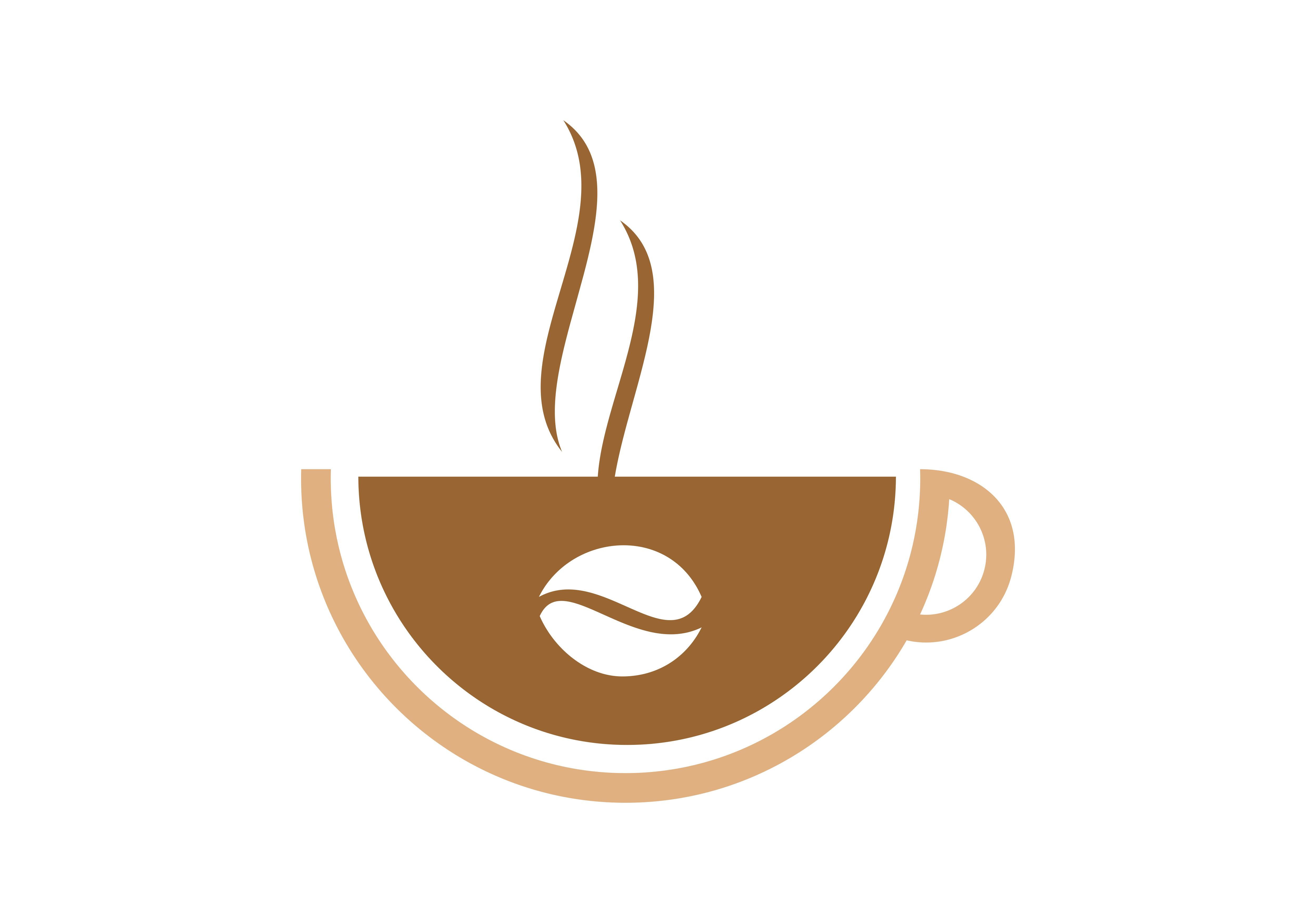 Download Free Coffee Espresso Drink Logo Vector Graphic By 2qnah Creative for Cricut Explore, Silhouette and other cutting machines.