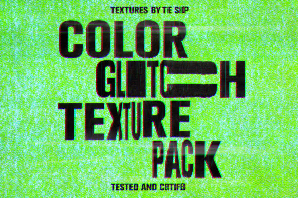 Color Glitch Textures Graphic Textures By theshopdesignstudio