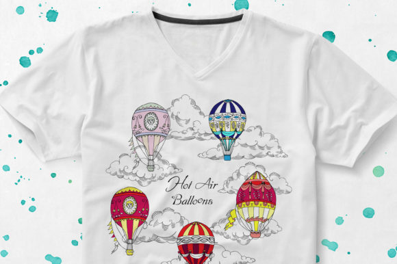 Download Free Colored Air Balloons Clipart Graphic By Natalia Piacheva for Cricut Explore, Silhouette and other cutting machines.
