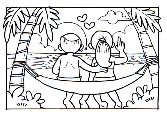 Download Free Colouring Book Kids Grafik Von Bunny Book Creative Fabrica for Cricut Explore, Silhouette and other cutting machines.