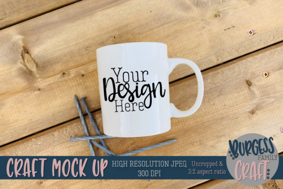Construction Mug Fathers Day JPG Graphic Product Mockups By burgessfamilycraft - Image 1