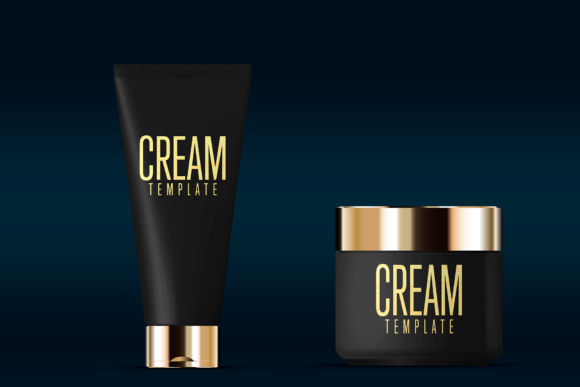 Cosmetics Mockup Advertising Graphic Product Mockups By rogeriolmarcos - Image 2