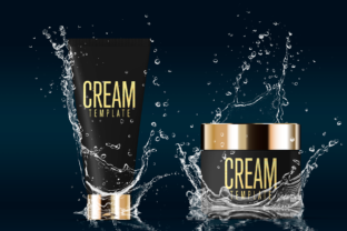 Cosmetics Mockup Advertising Graphic By rogeriolmarcos