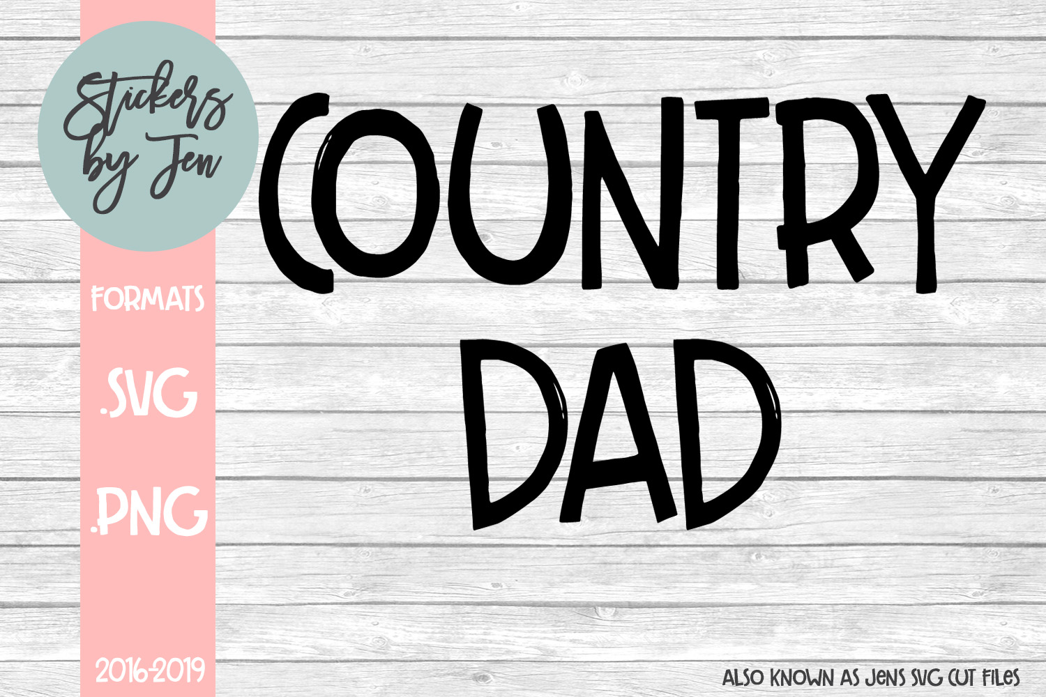 Download Free Country Dad Svg Graphic By Stickers By Jennifer Creative Fabrica for Cricut Explore, Silhouette and other cutting machines.