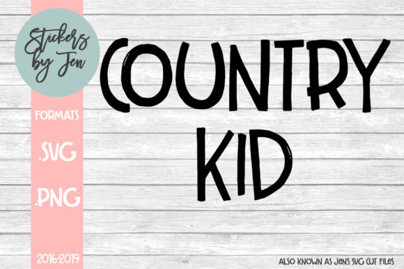 Download Free Country Kid Svg Graphic By Stickers By Jennifer Creative Fabrica SVG Cut Files