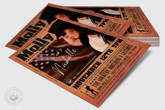 Country Live Flyer Template V2 Graphic Print Templates By ThatsDesignStore - Image 4