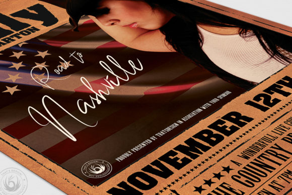 Country Live Flyer Template V2 Graphic Print Templates By ThatsDesignStore - Image 6