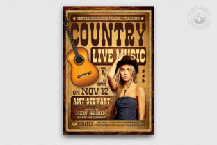 Country Live Flyer Template V4 Graphic By ThatsDesignStore