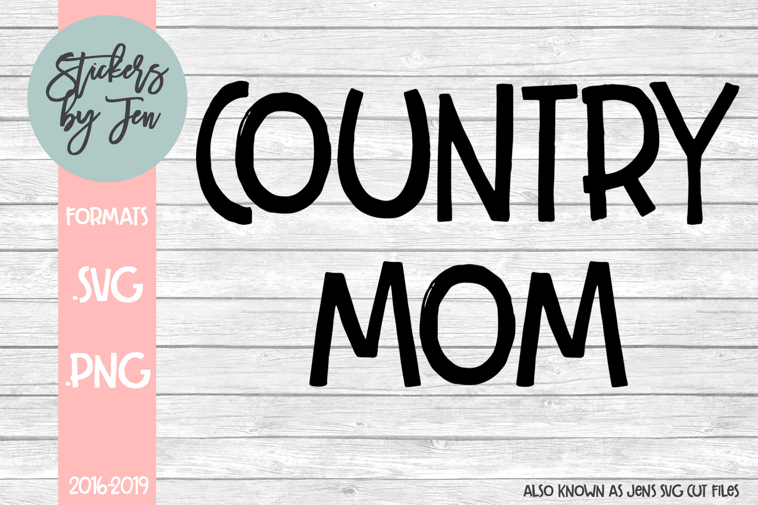 Download Free Country Mom Svg Graphic By Stickers By Jennifer Creative Fabrica for Cricut Explore, Silhouette and other cutting machines.