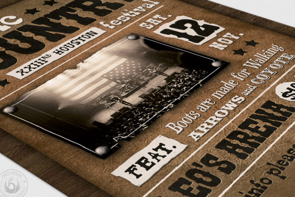 Country Music Flyer Template V2 Graphic By ThatsDesignStore Image 6