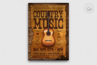 Country Music Flyer Template Graphic By ThatsDesignStore