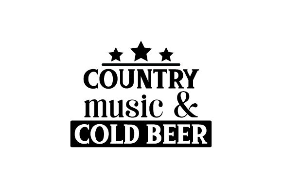 Download Free Country Music Cold Beer Svg Cut File By Creative Fabrica SVG Cut Files