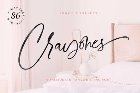 Print on Demand: Crayones Script & Handwritten Font By Mercurial