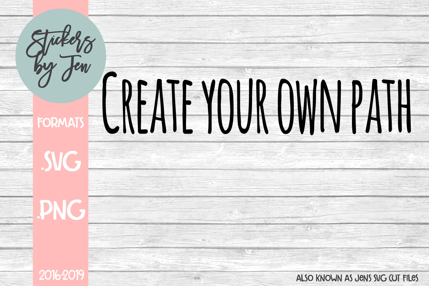 Download Free Create Your Own Path Svg Graphic By Stickers By Jennifer for Cricut Explore, Silhouette and other cutting machines.