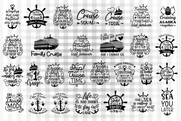 Cruise Bundle Graphic By Illustrator Guru