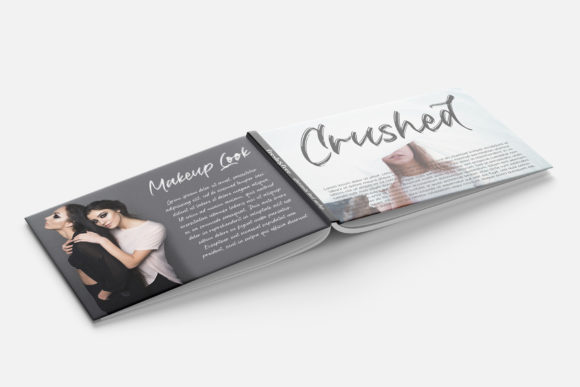 Download Free Crushed Font By Motokiwo Creative Fabrica for Cricut Explore, Silhouette and other cutting machines.
