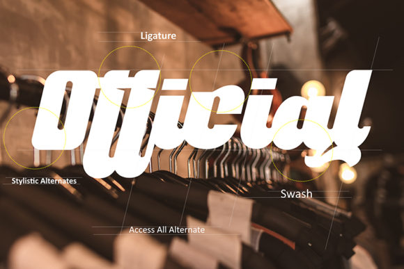 Print on Demand: Culture Display Font By dataibayt - Image 3