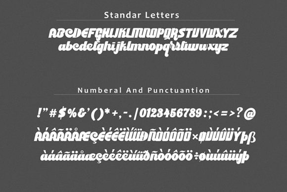 Print on Demand: Culture Display Font By dataibayt - Image 5