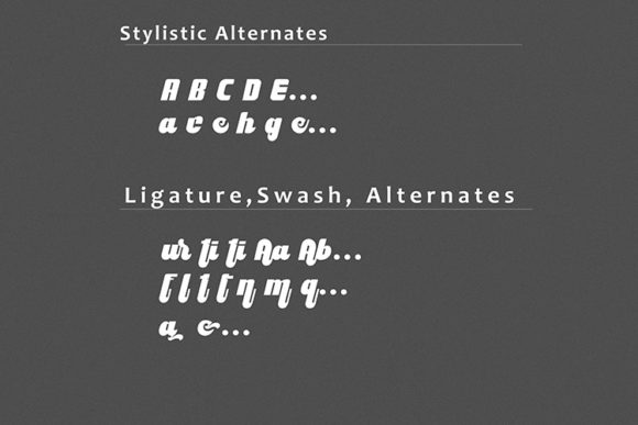 Print on Demand: Culture Display Font By dataibayt - Image 6