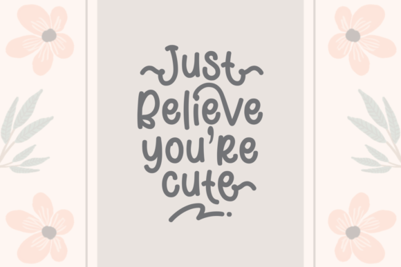 Cute Nesia Font By Adyfo (7NTypes) Image 2