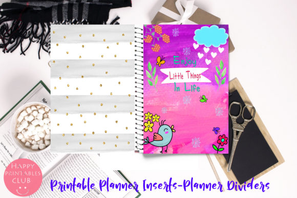 Cute Planner Inserts-Planner Quotes Graphic By Happy Printables Club Image 2