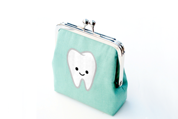 Cute Smiling Tooth Graphic Crafts By DesignedByGeeks