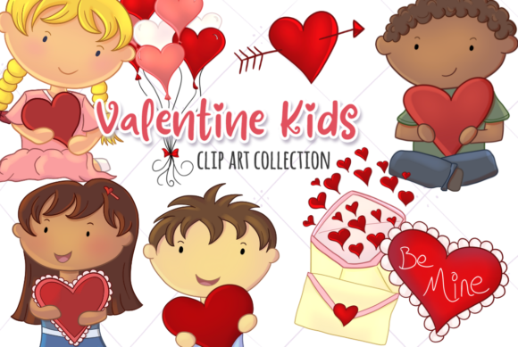 Print on Demand: Cute Valentine's Day Graphic Illustrations By Keepinitkawaiidesign
