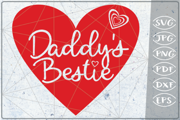 Daddy's Bestie Happy Mother's Day SVG Graphic Crafts By Cute Graphic