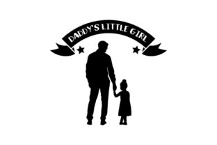 Daddy's Little Girl Craft Design By Creative Fabrica Crafts