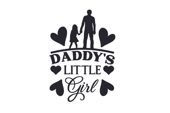 Download Free Daddy S Little Girl Archivos De Corte Svg Por Creative Fabrica Crafts Creative Fabrica for Cricut Explore, Silhouette and other cutting machines.