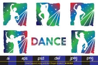Dance Party - SVG DXF EPS PNG Graphic By da_only_aan