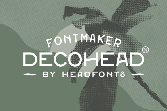 Print on Demand: Decohead Sans Serif Font By Headfonts