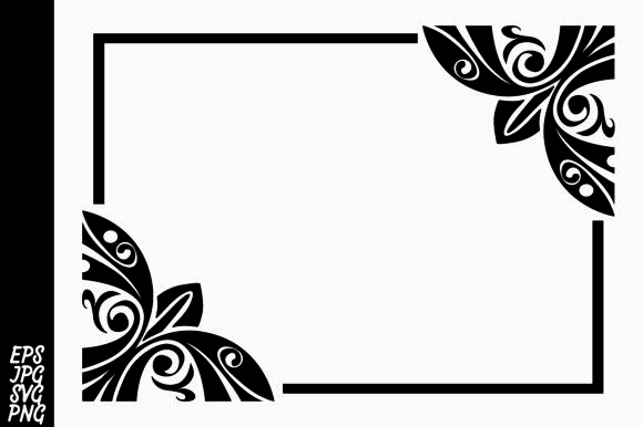 Download Free Decorative Ornament Border Graphic By Arief Sapta Adjie for Cricut Explore, Silhouette and other cutting machines.