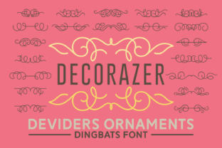 Decorazer Font By Keithzo (7NTypes)