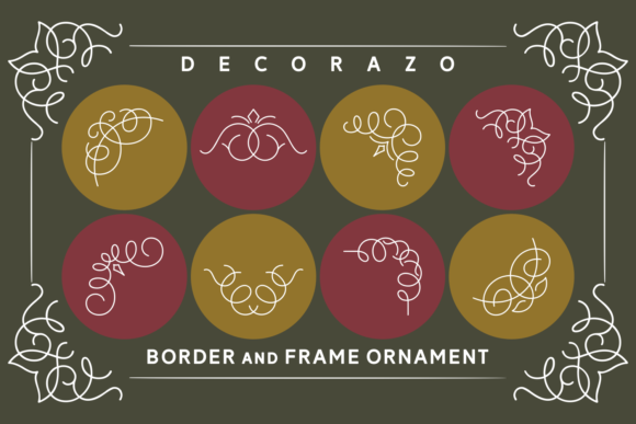 Print on Demand: Decorazo Dingbats Font By Keithzo (7NTypes) - Image 2