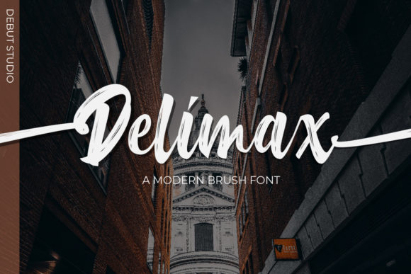 Print on Demand: Delimax Script & Handwritten Font By Debut Studio