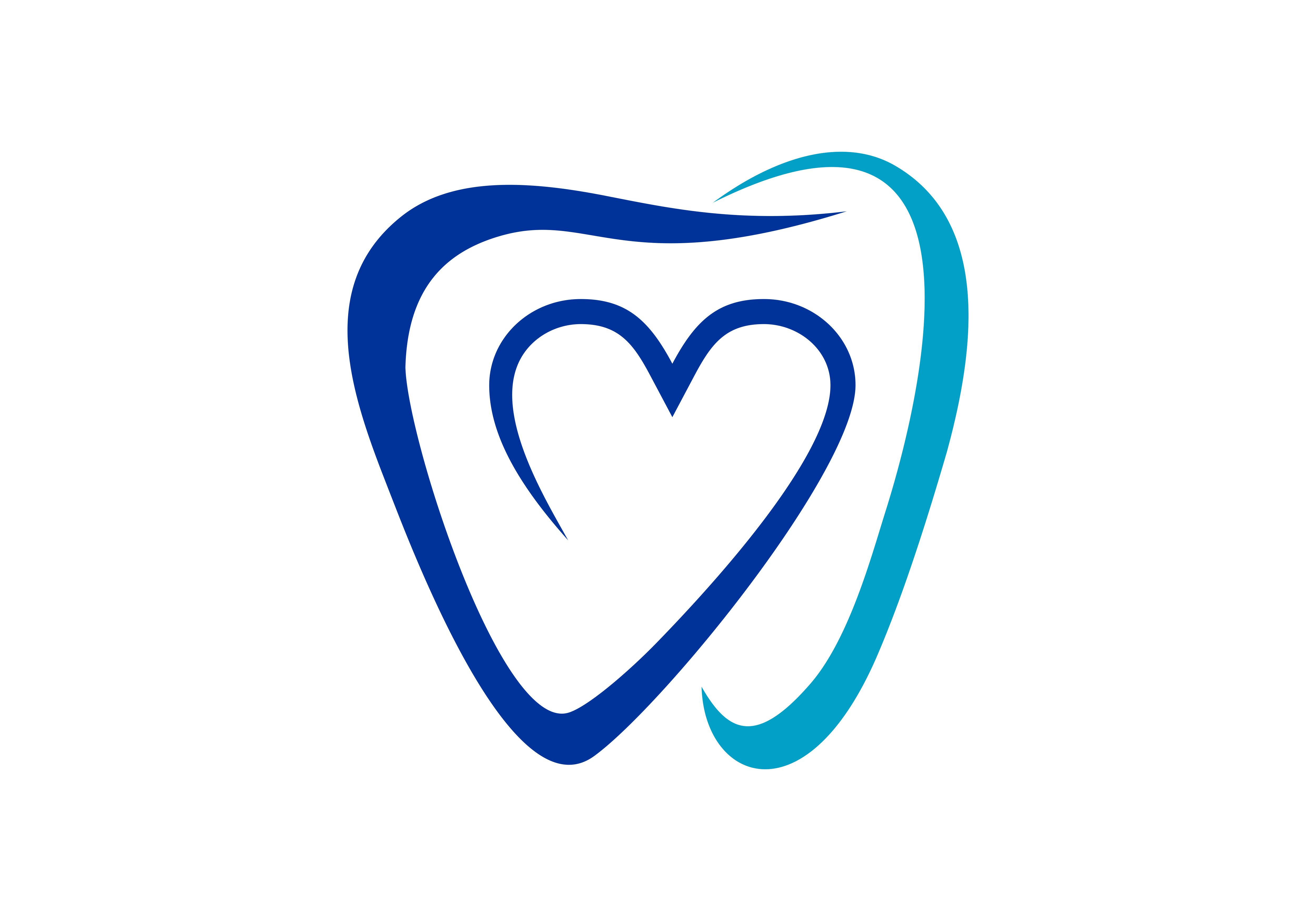 Download Free Dental Tooth Dentist Love Logo Graphic By Deemka Studio for Cricut Explore, Silhouette and other cutting machines.