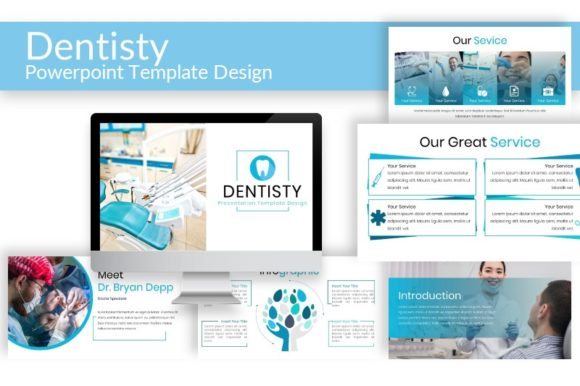 Dentisty - Powerpoint Template Graphic By mochammadfahdy