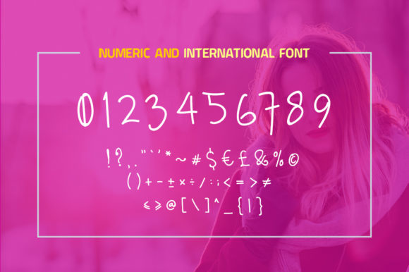 Diana Moon Font Downloadable Digital File