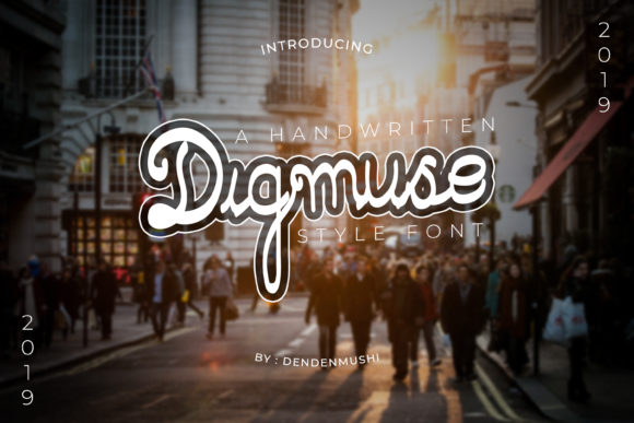 Print on Demand: Digmuse Script & Handwritten Font By diiconstudio