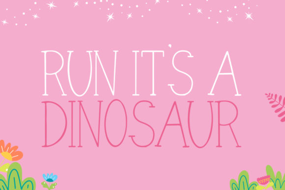Print on Demand: Dino Friends Serif Font By Salt & Pepper Designs - Image 2