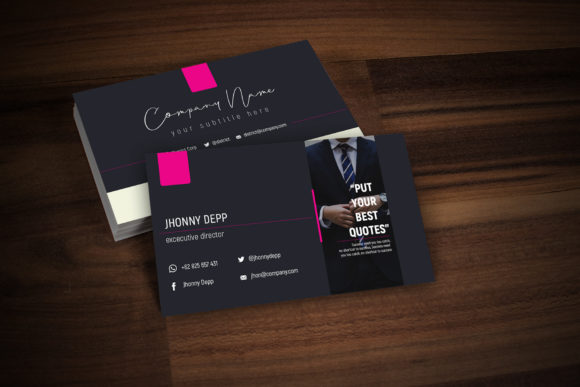 District Business Card Templates Graphic By gumacreative