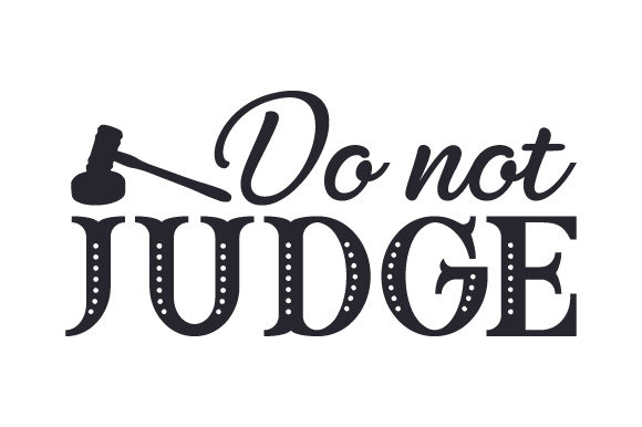 Do Not Judge Religious Craft Cut File By Creative Fabrica Crafts - Image 1