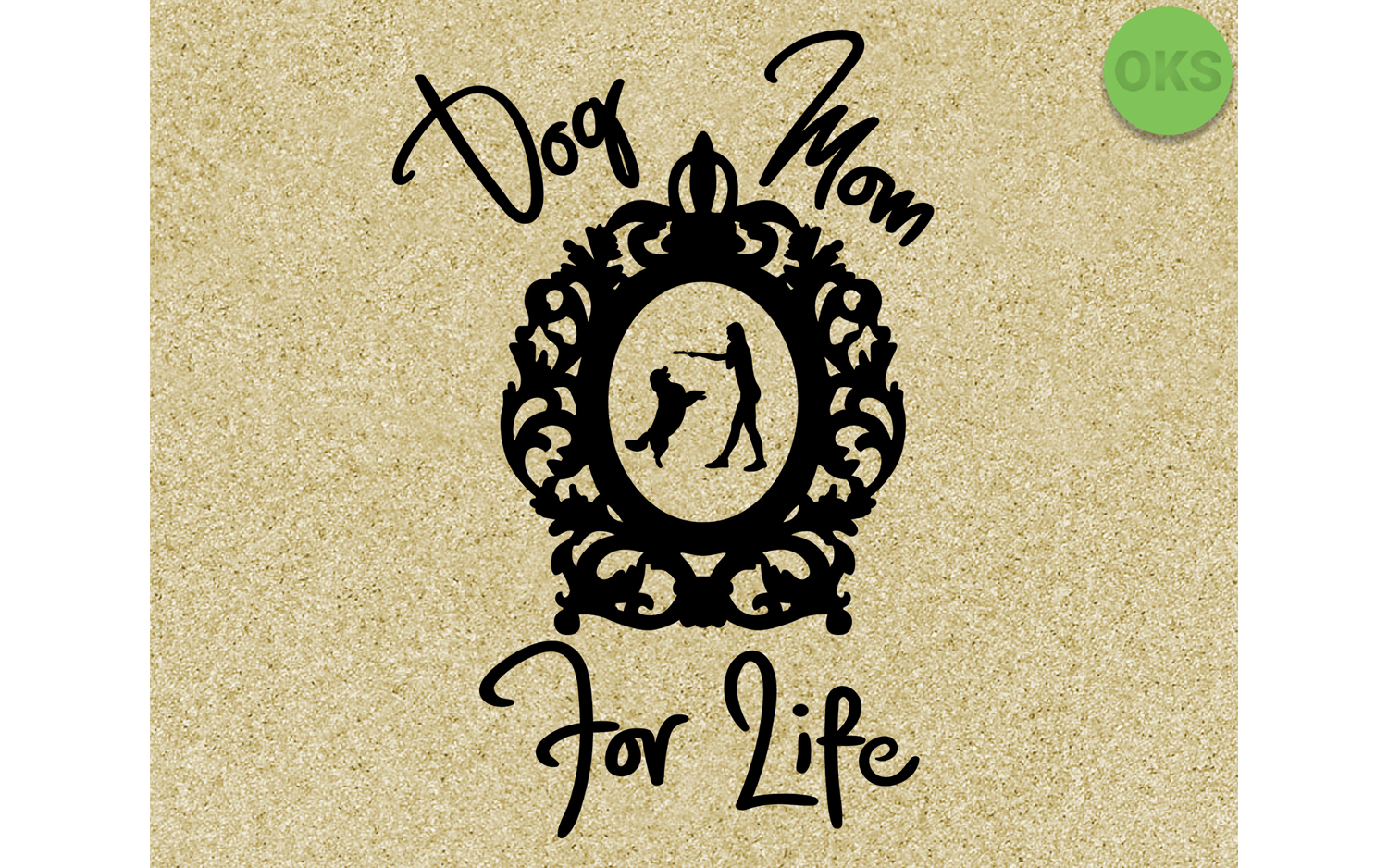 Download Free Dog Mom For Life Svg Eps Vector Dxf Graphic By Crafteroks for Cricut Explore, Silhouette and other cutting machines.
