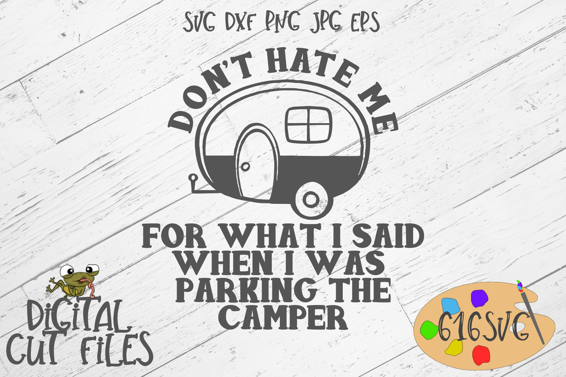 Download Free Don T Hate Me For What I Said Svg Graphic By 616svg Creative for Cricut Explore, Silhouette and other cutting machines.