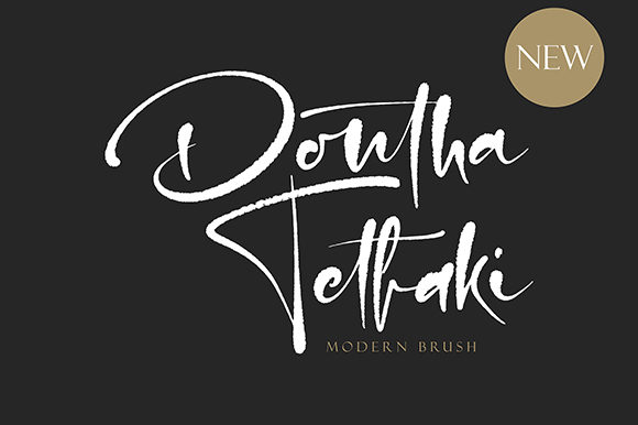 Print on Demand: Dontha Tethaki Script & Handwritten Font By missinklab