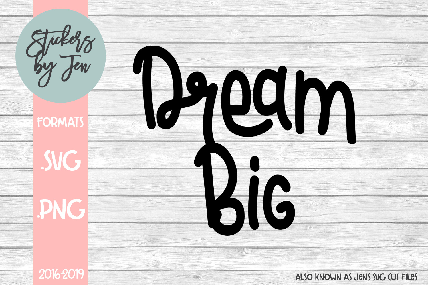 Download Free Dream Big Svg Graphic By Stickers By Jennifer Creative Fabrica for Cricut Explore, Silhouette and other cutting machines.