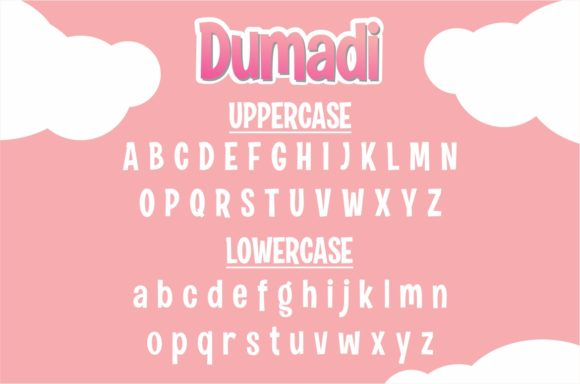 Print on Demand: Dumadi Display Font By DUMADI - Image 2