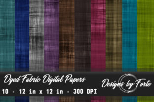 Dyed Fabric Digital Papers Graphic By Heidi Vargas-Smith