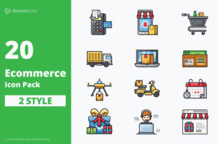 E-commerce Icon Pack Graphic By Icon Stale